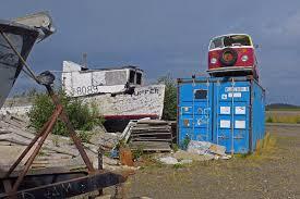 dead abandoned vandalized vehicles pile up in dillingham