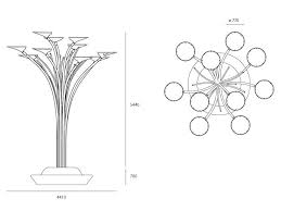 artemide solar tree product data sheet