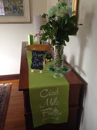 Green Table Gifts by