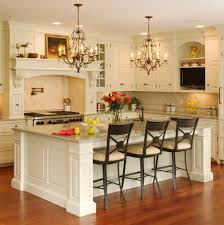 attractive white themed contemporary kitchen designed with