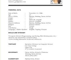 exle resume for college internship format student resume for internship college download engineering