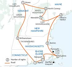 New England Road Map by New England Cottontail New England Cottontail Management Map Of
