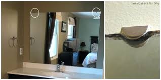 marvelous unique how to frame a bathroom mirror with clips best 20