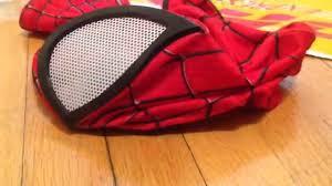 zentai amazing spiderman 2 mask eva lenses review