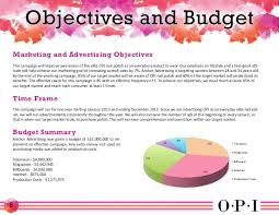 opi advertising campaign book