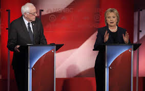 sanders clinton debate transcript annotating what they say the