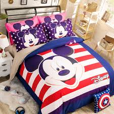 Mickey Mouse King Size Duvet Cover Mickey Mouse Bedding Twin Blue Mickey Mouse Print Bedding Boys