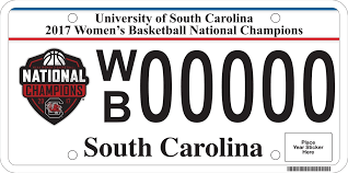 usc alumni license plate my carolina alumni association gamecock license plates