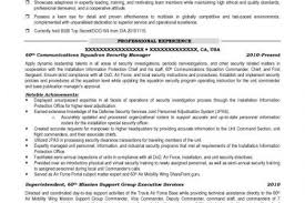 Military Veteran Resume Examples by Military Security Resume Example Reentrycorps
