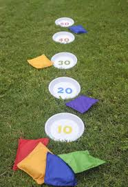 outdoor games diy bean bag toss childhood games bean bags and