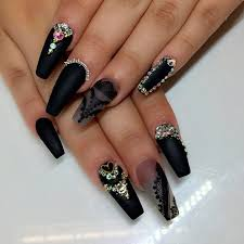 try beautiful сoffin shape nails naildesignsjournal com