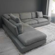 grey fabric corner sofa corner sofa display relax italian corner sofa in grey fabric vcf ideas