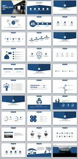 30 blue business plan powerpoint templates the highest quality