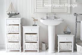 tall white bathroom cabinet tall white shaker style bathroom