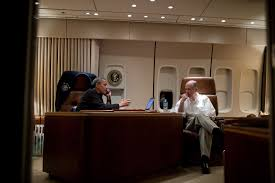 Air Force One Interior File Barack Obama On Air Force One Talking To Mohammed Morsi Jpg