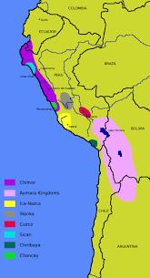 Peru On Map Chimu Maps