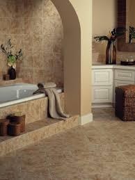 bathroom ceramic wall tile black polished metal frame glass shower