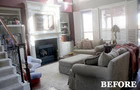 livingroom makeover living room makeovers luxury bright blue living room makeover home
