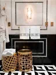 gold bathroom ideas black white gold bathrooms black white gold