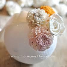 diy wedding decor sola flower pomander balls u2013 carver junk