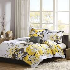 Black And Yellow Duvet Cover Allison Yellow Twin Comforter Set