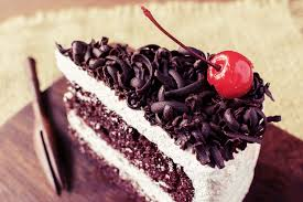 low fat black forest cake