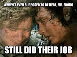 Frodo Meme - livememe com