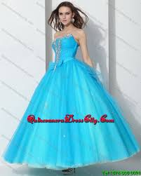 baby blue quinceanera dresses 2015 beading baby blue quinceanera dresses with bownot