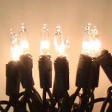 20 mini christmas lights clear w black cord mini lights