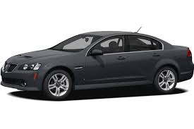 pontiac g8 sedan models price specs reviews cars com