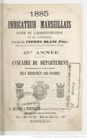 annuaire chambre de commerce indicateur marseillais guide du commerce annuaire du