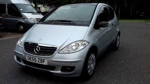 mercedes a class history 2006 mercedes a class a150 manual service history low mileage
