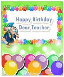 happy birthday teacher birthday wishes for teacher universal