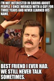 ron swanson birthday quote parks and recreation 12 of the best ron