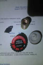 what is a desk return pressure regulator lowes when i made it there i told the lady at the