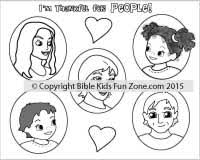 thankful for people multicultural coloring sheet jpg