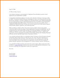 Sample Cover Letter For Registered Nurse Resume Sample Cover Letter For Rn Nurse Job Cover Letter Samples