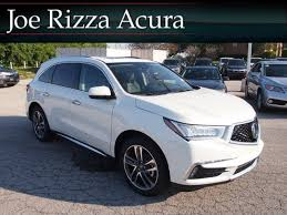Acura Mcx New 2017 Acura Mdx With Advance Package Sport Utility In Orland