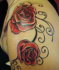 12 best rose shoulder tattoo designs images on pinterest ideas