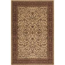 Concord Global Area Rugs Concord Global Trading Classics Kashan Ivory 6 Ft 7 In X