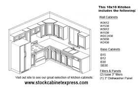 what does 10x10 cabinets 10x10 kitchen configuration