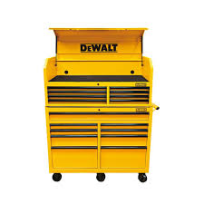 dewalt 52 in 17 drawer rolling bottom tool cabinet and top tool