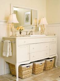 how to make a vanity from nightstands
