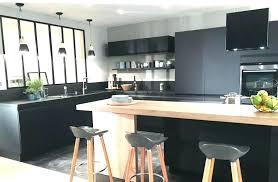 cuisine noir mat et bois cuisine noir mat et bois plus free cuisine mat comment cuisine large