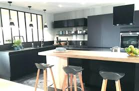 cuisine noir mat cuisine noir mat et bois et stunning awesome cuisine mat stores