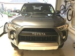 toyota on line has anyone fabricated the trd pro bumper garnish bar to copy trd