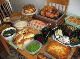evil adventure and experiment log 2010 thanksgiving spread