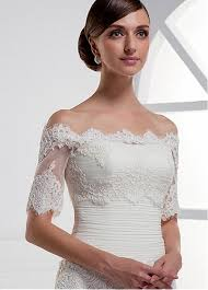 wedding dress jacket buy discount pretty tulle the shoulder sleeve bridal