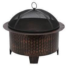 Cast Iron Outdoor Fireplace by Cobraco Fire Pits Outdoor Heating The Home Depot