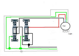 how to wire a ceiling fan with 2 switches wiring ceiling with two switches wall light pull switch 5 see